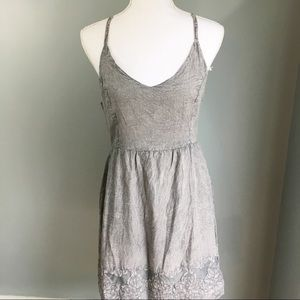 NWT Romeo + Juliet Couture Gray Spacedyed dress